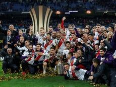 River Plate alcanza el cuarto puesto. EFE