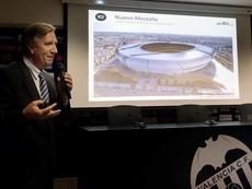 Presionan al Valencia por el nuevo Mestalla. EFE