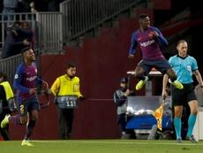 El Barcelona presenta la mejor racha de la Champions. EFE