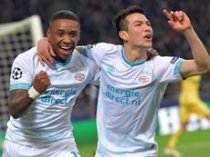 El PSV le ha amargado la noche al Inter. EFE