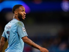 Sterling pictured in Champions League action for City. EFE