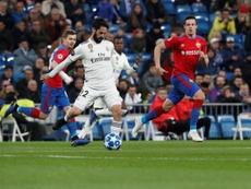 El Madrid jugó ante el CSKA hace 83 días. EFE