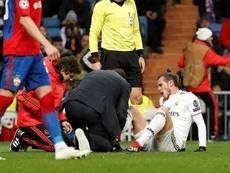 Bale n'arrive pas à rester en bonne santé. EFE