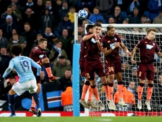 Sane scored a brilliant free kick to give Manchester City all three points. EFE