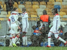 Lyon secured the final last-16 berth. EFE