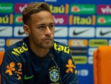 El presidente no quiso hablar de Neymar.EFE