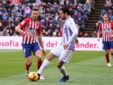 Kiko Olivas ha renovado su contrato con el Real Valladolid. EFE/Archivo