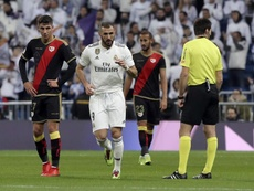 Benzema slotted home the game's only goal in the first half. EFE