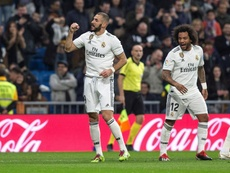 Benzema a donne trois points à Madrid. EFE