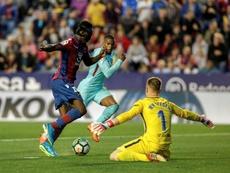 Boateng irá al Camp Nou a soñar. EFE