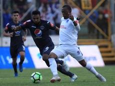 Reinieri Mayorquín renueva su contrato con Motagua. EFE