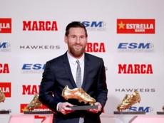 Messi et le Soulier d'Or, une histoire qui dure. EFE