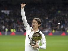 'Marca': Modric colgará las botas en el Madrid. EFE