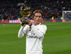 Modric prolongera, grâce à son Ballon d'Or. EFE/Archive