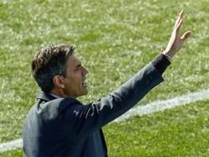 Pellegrino cree que a los suyos les faltó concentración ante el Girona. EFE