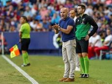 El técnico da entrada a Fran Manzanara, jugador del filial. EFE
