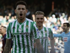 Sanabria is likely to leave Real Betis so that the club can sign new players in January. EFE