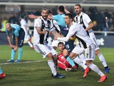 Les compos probables du match de Serie A entre la Juventus et l'Atalanta. EFE