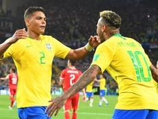 Thiago Silva prend la défense de Neymar Junior. EFE
