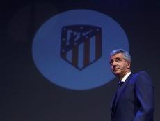 Gil Marín no dudó en apoyar a Simeone tras caer eliminados en la Champions League. EFE