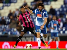 Granero quiere seguir disfrutando en el Espanyol. EFE