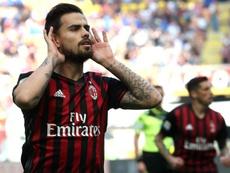 Les favoris du Milan AC pour remplacer Suso. EFE/Archivo