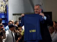 Alfaro salió en defensa de su equipo. EFE