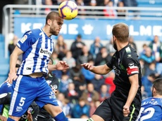 Laguardio reflejó sus sensaciones tras la derrota en Villarreal. EFE