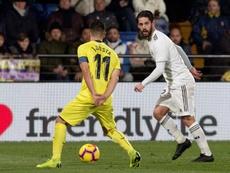 El Villarreal no pudo derrotar al Real Madrid. EFE