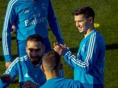 Brahim es el Vinicius de Zidane. EFE