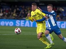 Adrià Pedrosa quiere crecer en el primer equipo. EFE