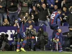 Il Levante batte il Barcellona. EFE