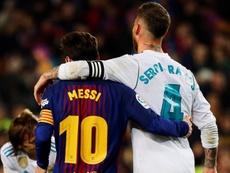 Messi, Ramos y una racha para la historia. EFE
