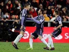 El Valladolid se queja de la logística ante Madrid y Barça. EFE