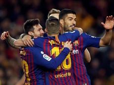 El Barcelona buscará la remontada. EFE
