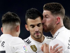 El Madrid sufrió para ganar. EFE