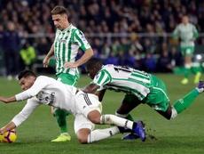 Carvalho estaría en la rampa de salida del Betis. EFE