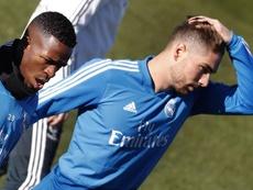 Luca Zidane, en una situación difícil. EFE