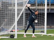 Keylor Navas a fait ses adieux au Real Madrid. EFE