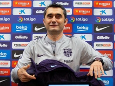 Valverde pasa revista. EFE