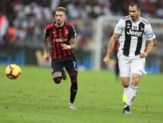 L'attaccante parla del riscatto del Milan. EFE