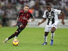 Milan - Juventus: onzes iniciais confirmados. EFE