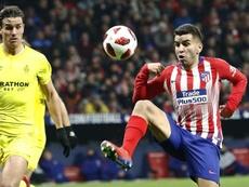El Milan volvería a la carga por Correa en enero. EFE