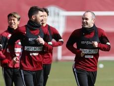 Villa explicó por qué se fue al Atlético y no al Arsenal. EFE