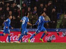 Jaime Mata y Jorge Molina consiguieron un doblete. EFE