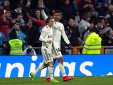 Modric y Casemiro mostraron un gran nivel ante el Sevilla. EFE