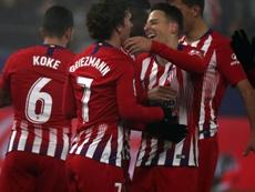 El Atlético saca nueve puntos al quinto en la tabla. EFE