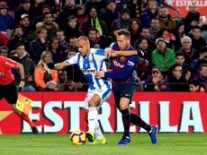 Le Barça va payer la clause libératoire de Braithwaite. EFE