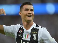 La Juventus supera la Lazio. AFP