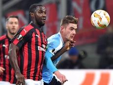 Cristian Zapata sigue sin renovar con el Milan. EFE